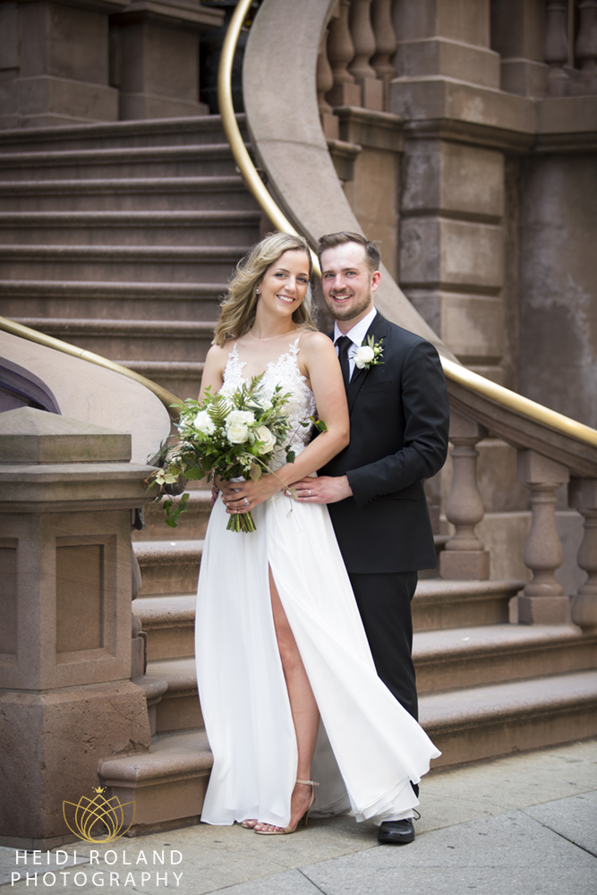 Intimate Philadelphia Wedding
