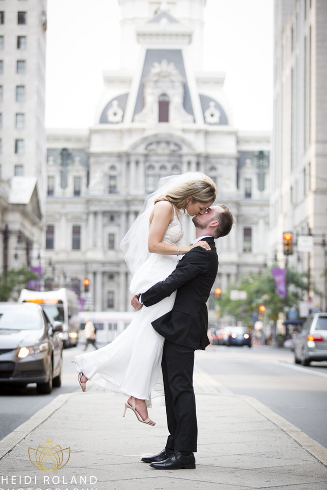 Intimate Philadelphia Wedding Center City Philadelphia