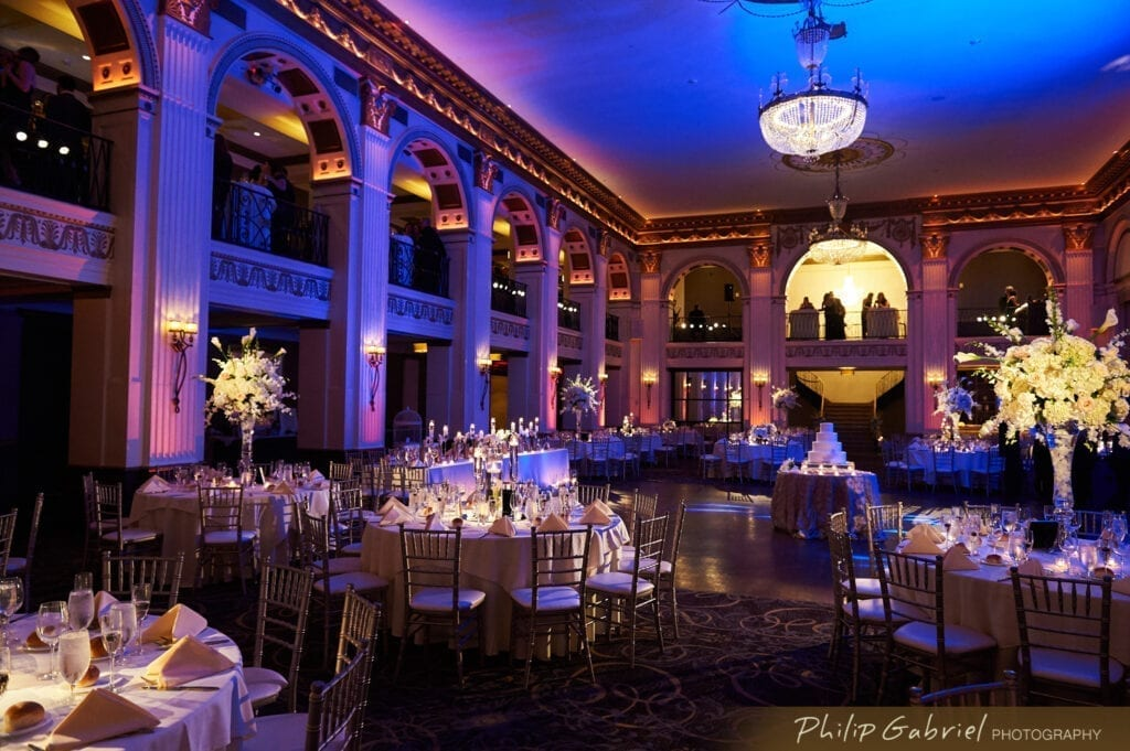 Philadelphia wedding Ballroom at the Ben in Philadelphia, PA