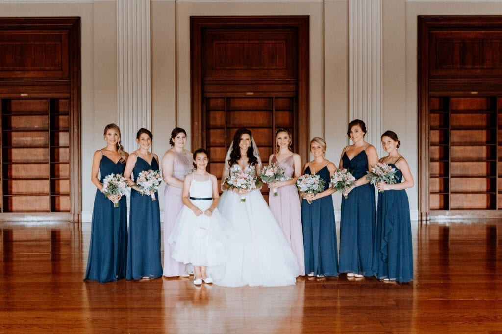 Philadelphia bridal party