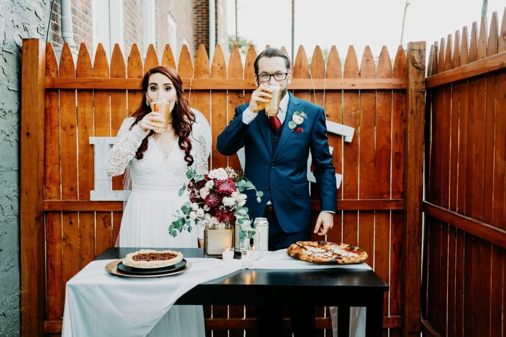 A wedding and a pandemic